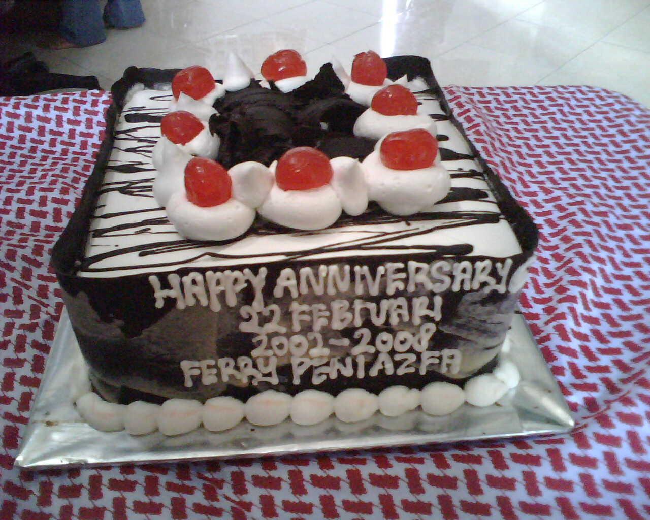 Cake Anniversary Mas Fey