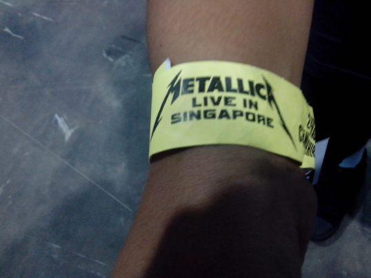 Metallica singapore
